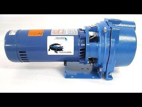 Goulds GT15 irrigation water pump installation - part one