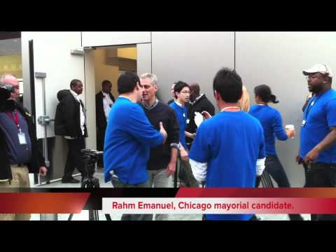 Apple Store Opening - Lincoln Park - Chicago 10-23-2010