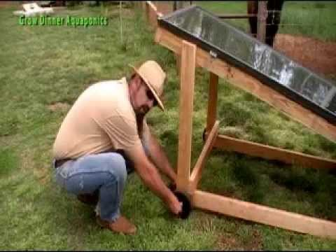 DIY Solar Water Heater for Aquaponics