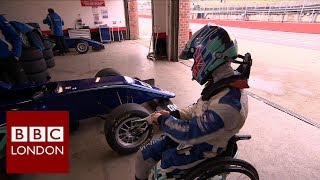 A remarkable return to racing for teenager Billy Monger – BBC London News