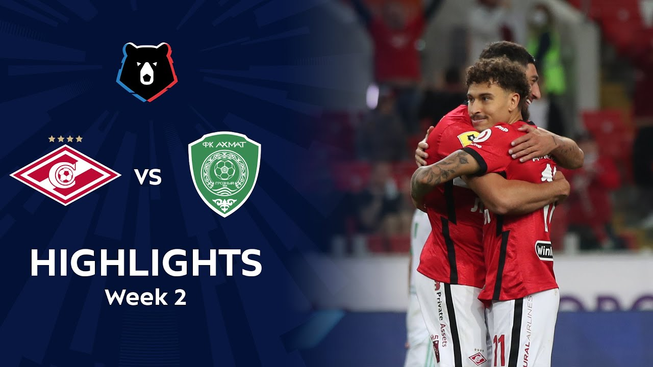 Highlights Spartak vs Akhmat (2-0) | RPL 2020/21