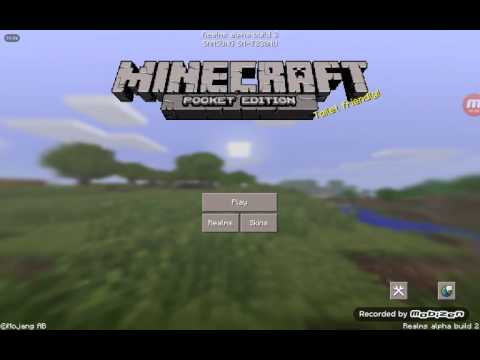 Minecraft 0.15.0 realms my name in the description put ur name down there ans ill add u or invite me