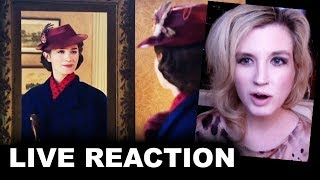 Mary Poppins Returns Trailer REACTION