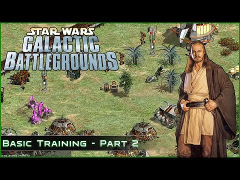 Battle of Alaris Prime - Basic Training Part 2- Star Wars Galactic Battlegrounds