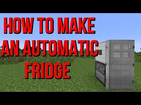 How To Make An Automatic Fridge In Minecraft - Tutorial