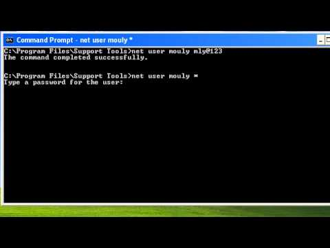 Change Local User Password from Command Line