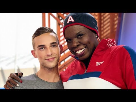 Adam Rippon & Leslie Jones' Iconic Olympic Commentary, US Curlers Feuding with This Celeb?!