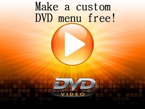 How to make a DVD menu free - Windows 7