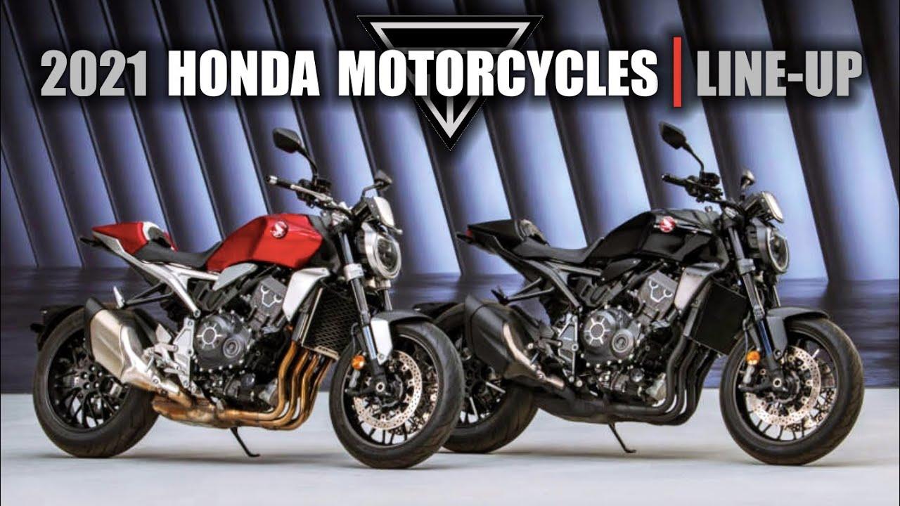 2021 Honda Motorcycles Line-up  |  New Models