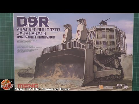 Meng 1/35th DR9 Armoured Dozer Review