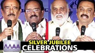 MAA Silver Jubilee Celebrations Day 3 | Movie Artist Association || Bhavani HD Movies