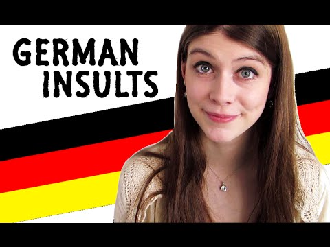 Funny GERMAN INSULTS (with translations)