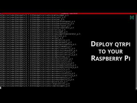 Cross-compile Qt applications for your Raspberry Pi 3 - 1. Install QtRpi from scratch