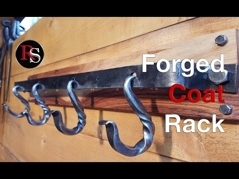 How To Make A Coat Rack / Blacksmithing
