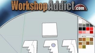 Learn how to use Sketchup --- tutorial #2