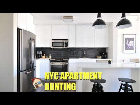MOVING TO NEW YORK CITY? APARTMENT HUNTING| VLOG