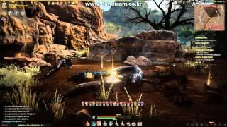 BlackDesert Ranger awakening at Temple of the Crescent Moon