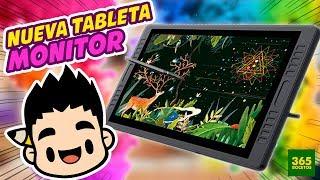 MI NUEVA TABLETA MONITOR de HUION para dibujo digital|Huion Kamvas GT-221 Pro Unboxing