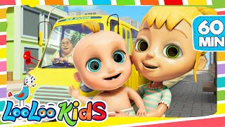The Wheels On The Bus - Cool Songs for Children | LooLoo Kids