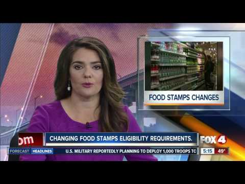 Florida could cut off food stamps for more than 200,000 residents