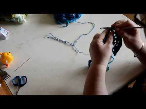 cape child - Crochet -Tutorial - English