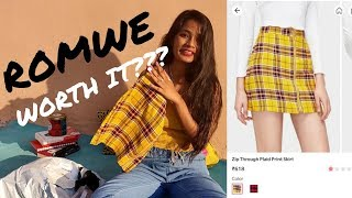 d02b8b02eb1 ROMWE AFFORDABLE TRY-ON CLOTHING HAUL