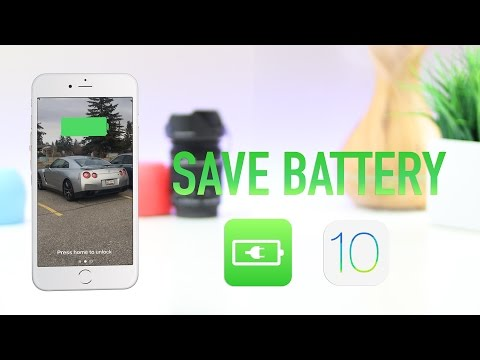 10 Tips to Save Battery and increase Battery life on iOS 10 iPhone / iPod / iPad - T