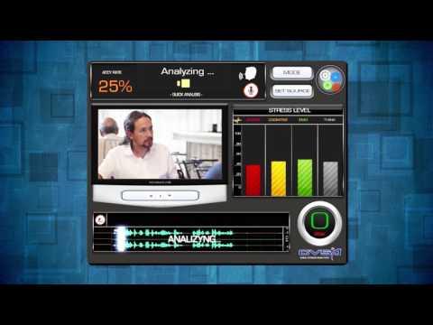 Voice stress analyzer