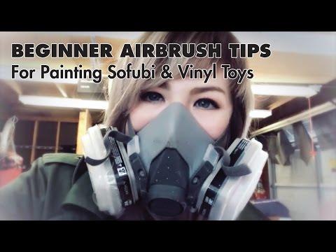 Beginner Guide to Airbrushing Vinyl Toys and Sofubi