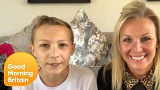 Britain's Got Talent Child Magician Jasper Cherry Wows Lorraine With a Trick | Good Morning Britain