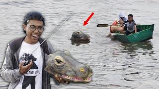 Download Remote Controlled Alligator Prank 2019 - Pertama di INDONESIA - cupstuwerd Video