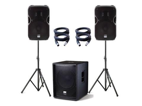 Extra Large Venue Speakers