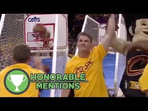 Watch: Cavs Fan DESTROYS Basketball Shootout Contest! | HM