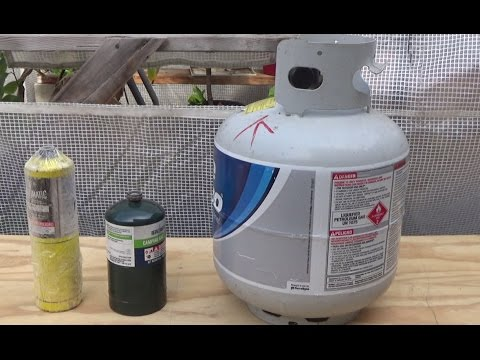 DIY: To chill or not to chill: two ways to refill propane canisters