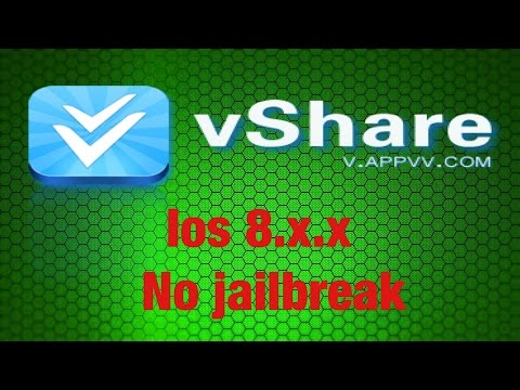 How To Get Vshare On iOS 8.x.x Without Jailbreak