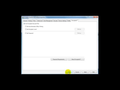 Third Generation imageRUNNER ADVANCE How to Video - Encrypted Secure Print