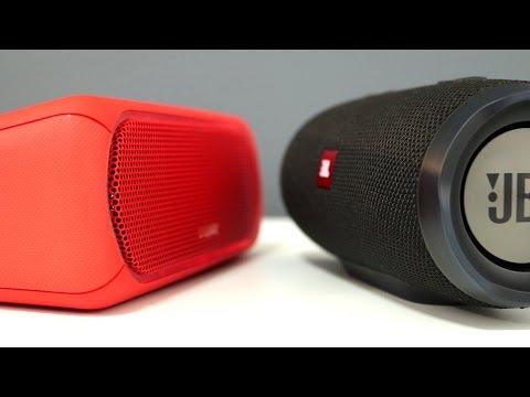 Sony SRS-XB30 vs JBL Charge 3 Wireless Speaker Comparison