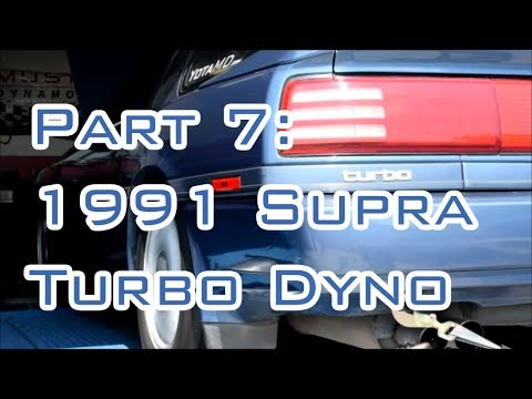 How Much Power Does a Stock 91 Supra Turbo Make?! Ookii Ao Pt 7