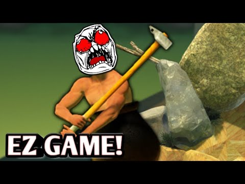 EZ GAME MEN! | Getting Over It Android Gameplay #0001 | Jay Jayz PH