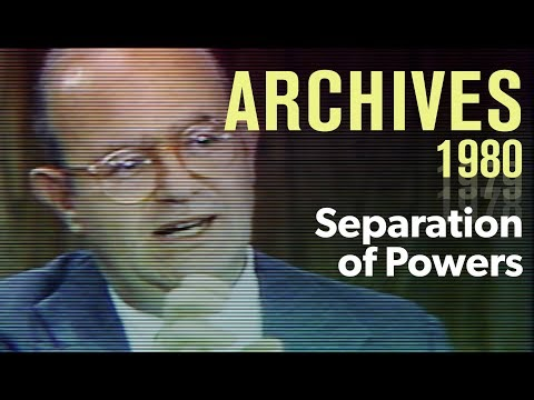 President vs. Congress: Does the separation of powers still work? (1980) | ARCHIVES