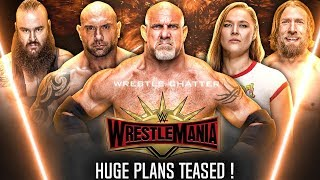 Big Plans Revealed/Teased By WWE ! Returns 2018 ! Huge Matches ! Wrestlemania 35 Match Card
