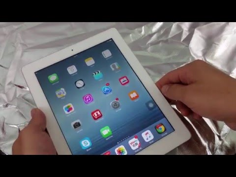 ALL IPADS: HOW TO TURN OFF/SHUT OFF WITHOUT POWER BUTTON
