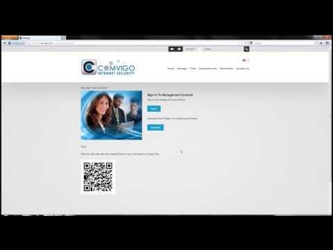 Managing Account Comvigo Android Internet Filter Software