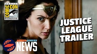 Justice League Comic Con Trailer Breakdown! - SDCC 2017