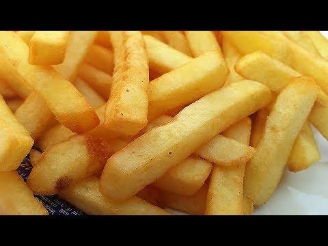 क्रिस्पी फ्रेंच फ्राइज़ बनाने का सबसे आसान तरीका बिल्कुल Mcdonald's Style, French Fries, آلو کے چپس