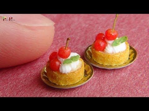Miniature Cherry Tartlets DIY - Petit Palm