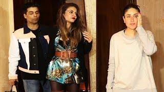 Kareena Kapoor With Karan Johar SPOTTED At Manish Malhotra
