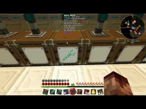 Ftb infinity ep 15 better barrel ender chest and quarry