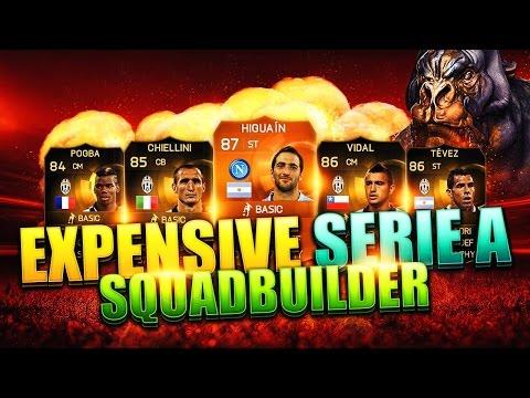 Fifa 15 Most Expensive Seire A Squad Builder Ultimate Team Motm Higuian