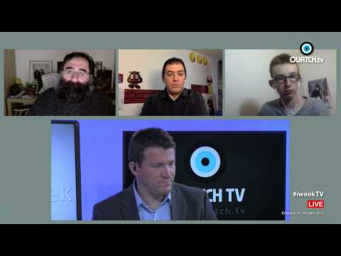 iWeek S01E13 : Les concurrentes de la futur iWatch, Chromecast, iPhone 5C 8 Go
